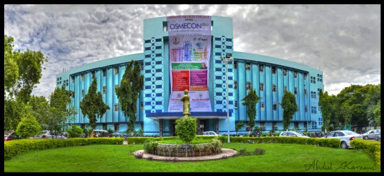 Osmania Medical College HDR Panorama